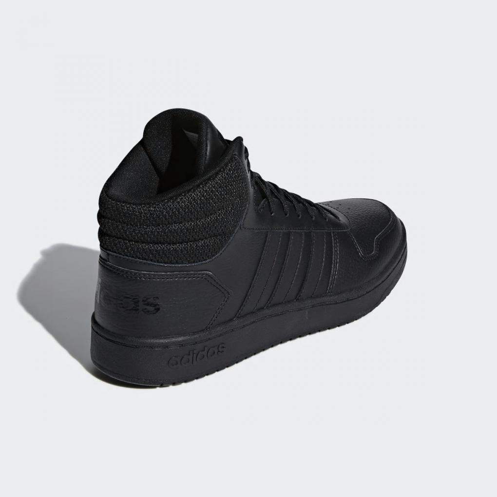 Adidas Basketball | HommeFemme Hoops 2.0 Mid Noir – Ujene