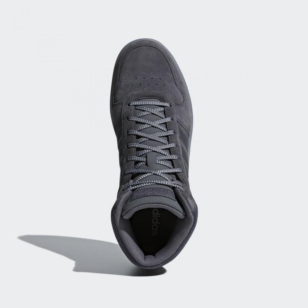 Adidas Essentials | Homme Hoops 2.0 Mid Gris – Ujene