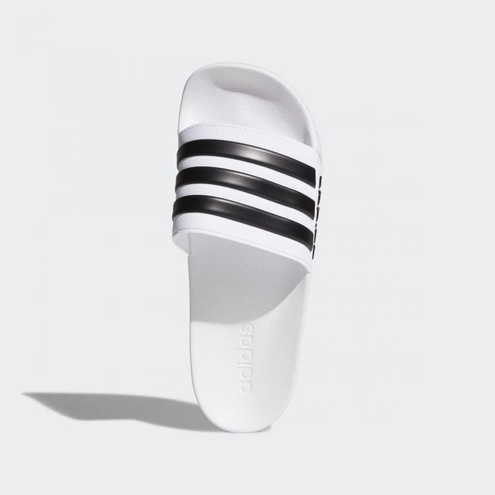 Adidas Essentials   HommeFemme Sandale Adilette Cloudfoam Blanc – Ujene