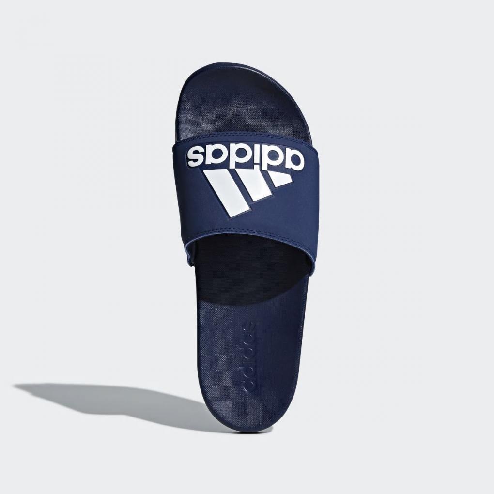 Adidas Essentials   HommeFemme Sandale adilette Cloudfoam Plus Bleu – Ujene