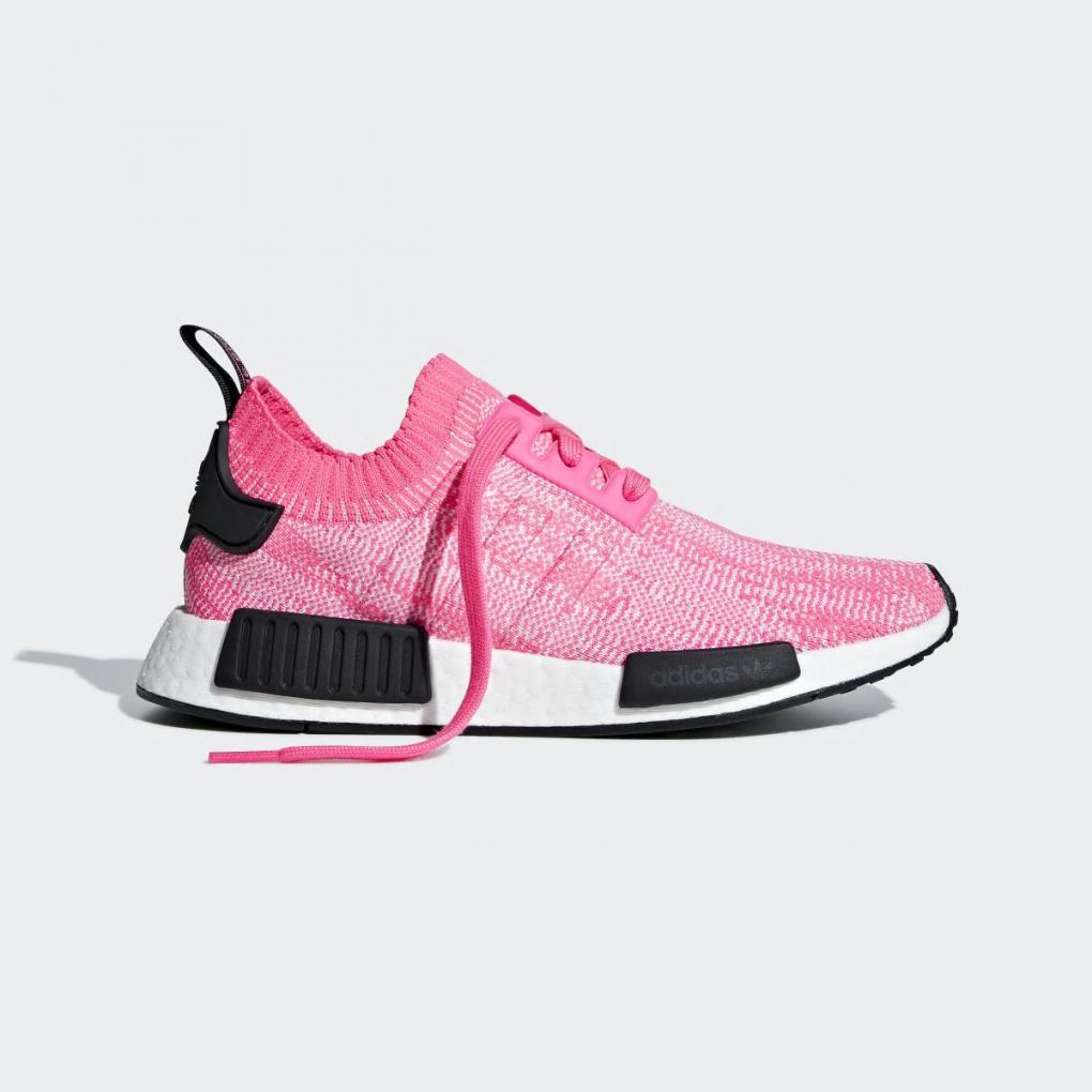 Adidas Originals   Femme NMD_R1 Primeknit Rose – Ujene