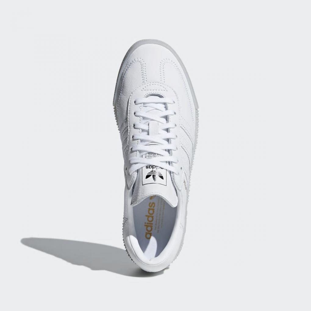 adidas sambarose blanche femme