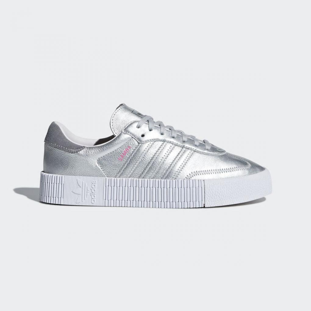Adidas Originals | Femme SAMBAROSE Shoes Argent – Ujene