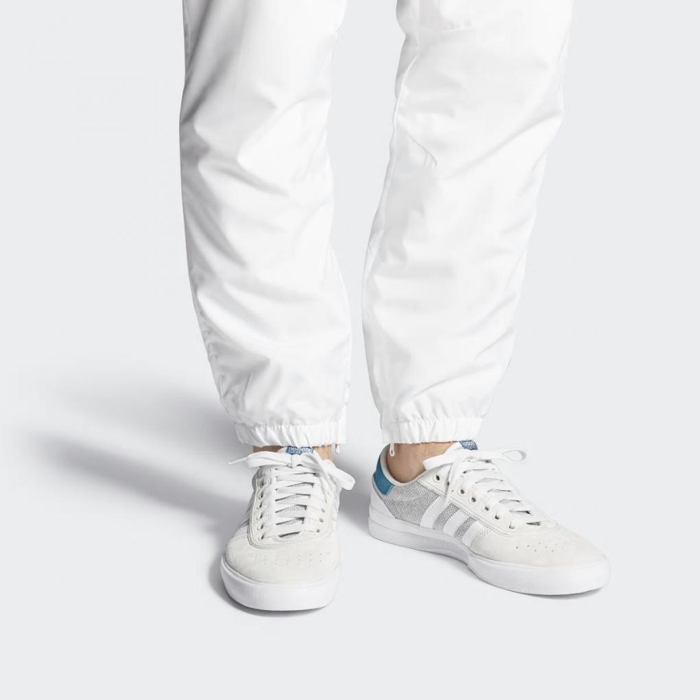 Adidas Originaux HOMME Lucas Première Chaussures Blanc Puig