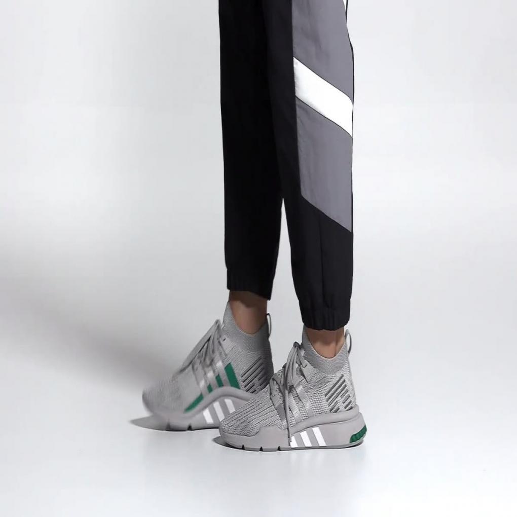 Adidas Originals | HommeFemme EQT Support Mid ADV Primeknit Gris – Ujene
