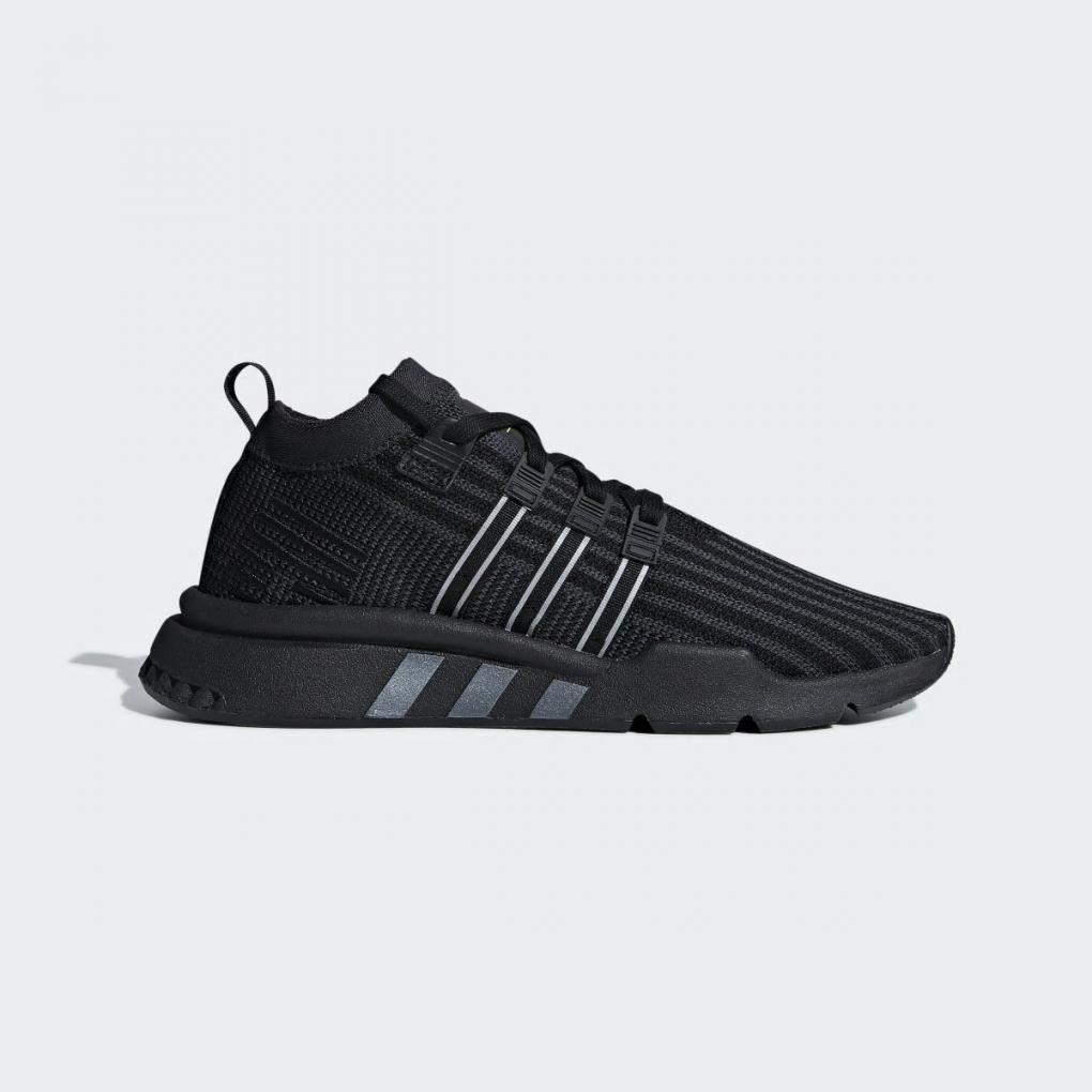 Adidas Originals | HommeFemme EQT Support Mid ADV Primeknit Noir – Ujene