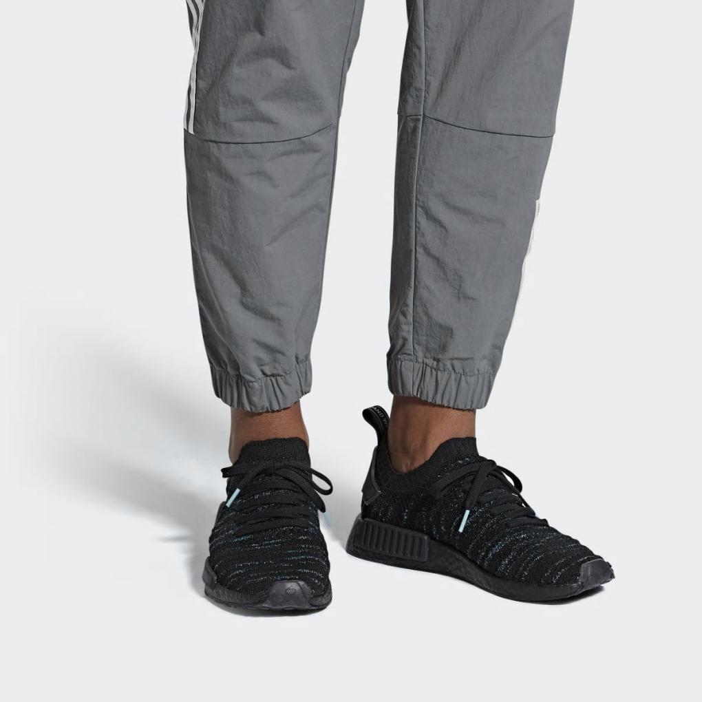 Adidas Originals   HommeFemme NMD_R1 STLT Parley Primeknit Noir – Ujene