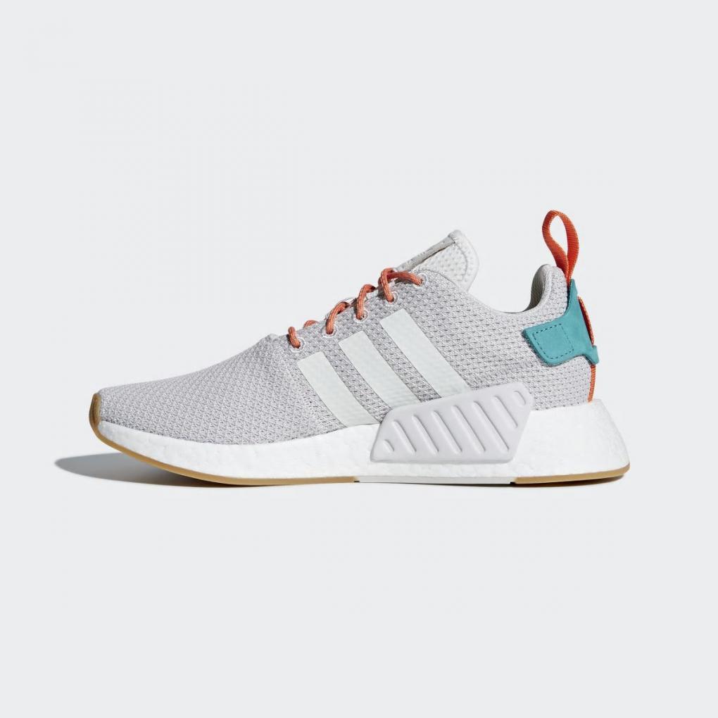 Adidas Originals   HommeFemme NMD_R2 Summer Gris – Ujene