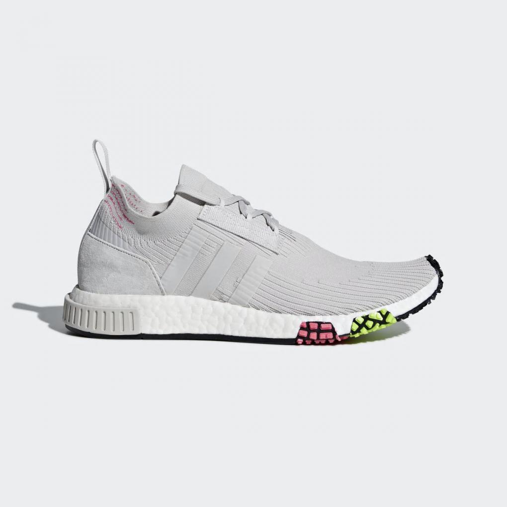 Adidas Originals | HommeFemme NMD_Racer Primeknit Gris – Ujene