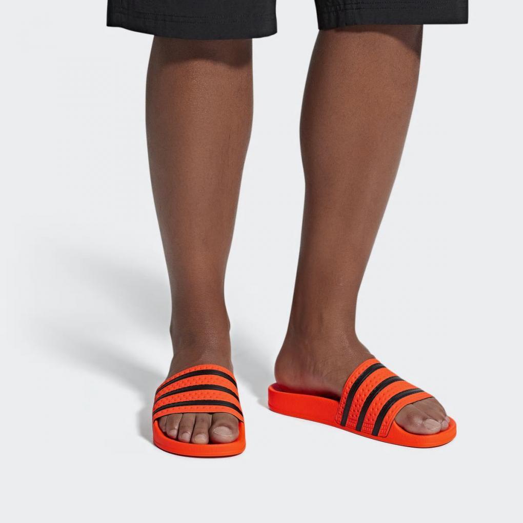 Adidas Originals | HommeFemme Sandale Adilette Orange – Ujene