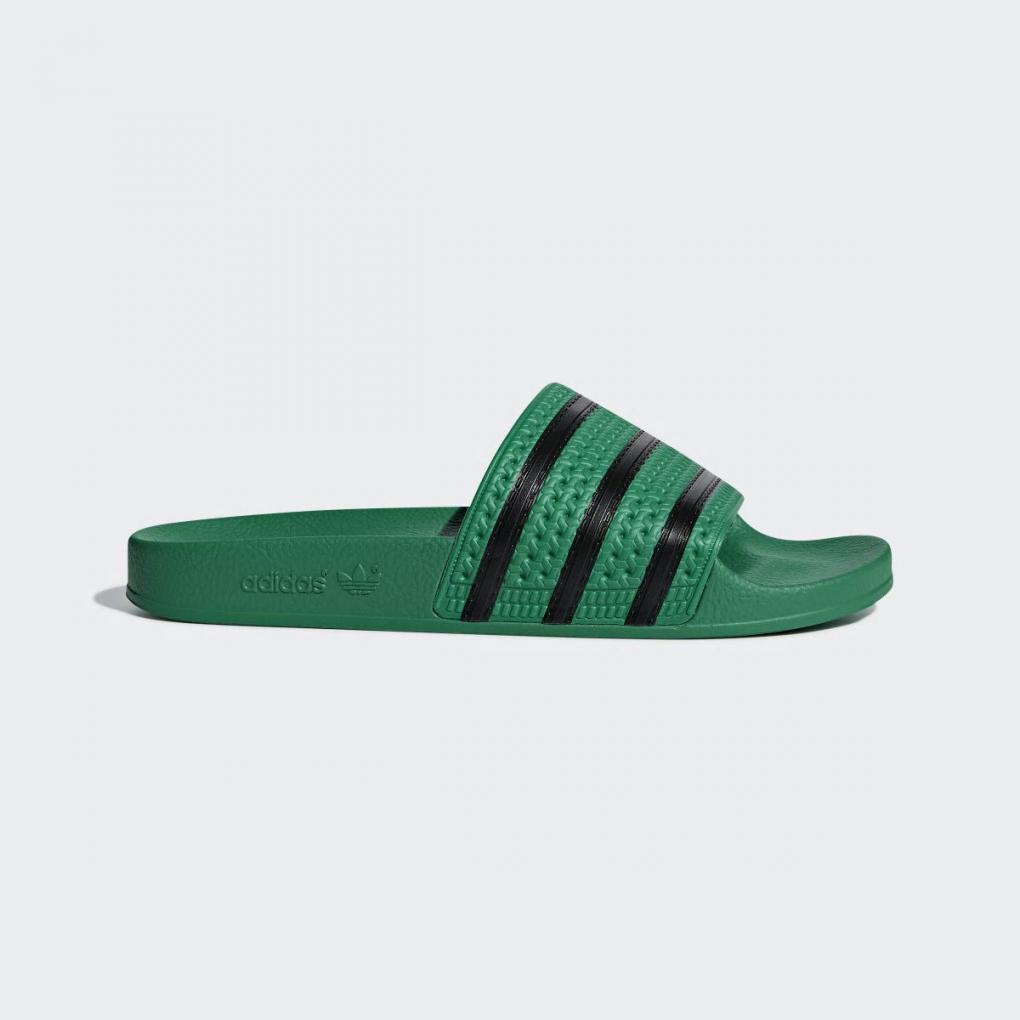 Adidas Originals | Homme/Femme Sandale Adilette Vert – Ujene
