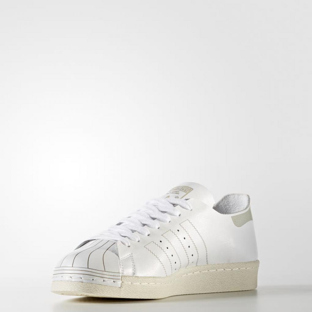 Adidas Originals HommeFemme Superstar 80s Decon Blanc - Ujene  HommeFemme Superstar 80s Decon Blanc – Ujene