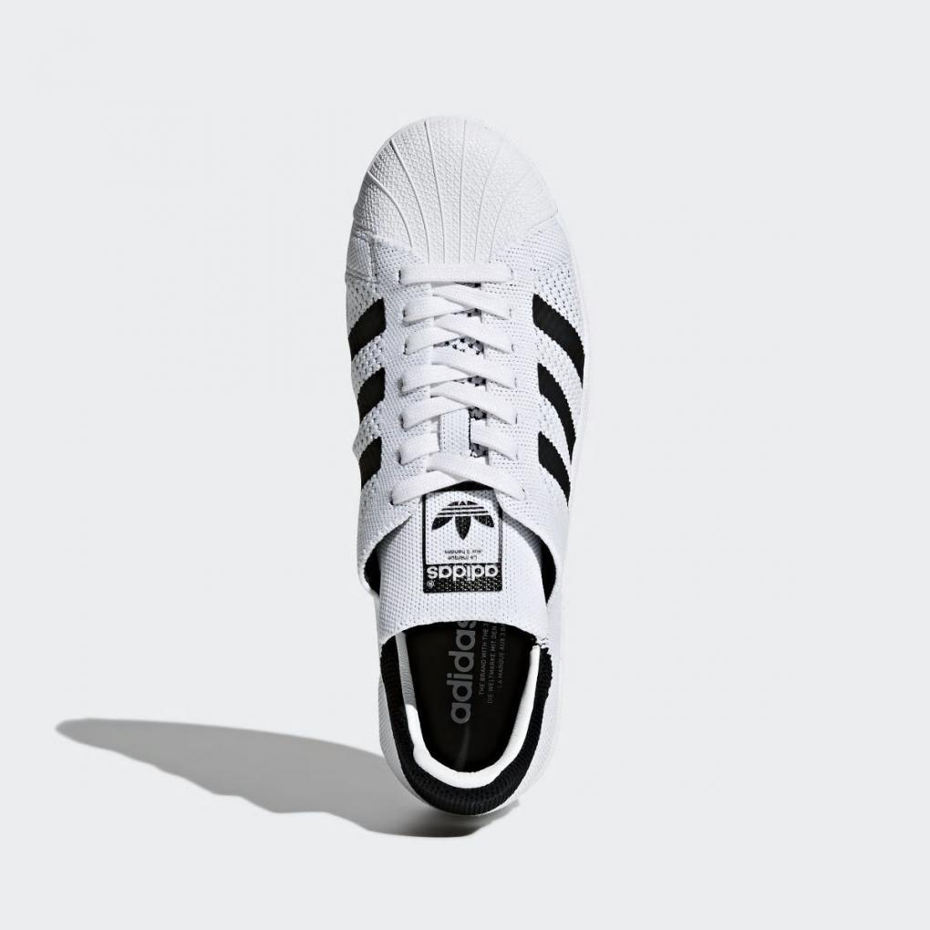 Adidas Originals | HommeFemme Superstar Primeknit Shoes Blanc – Ujene