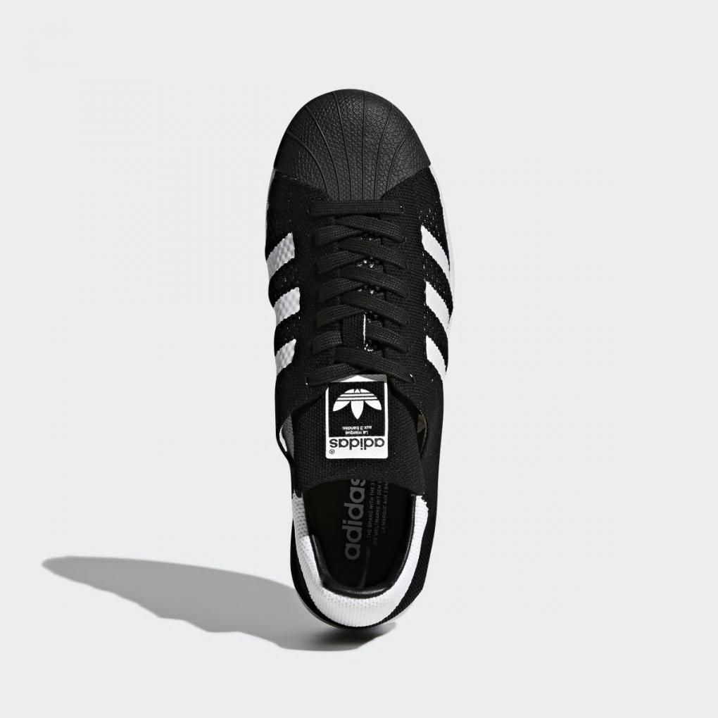 plus de photos 3e3ba a48c6 Adidas Originals | Homme/Femme Superstar Primeknit Shoes Noir – Ujene