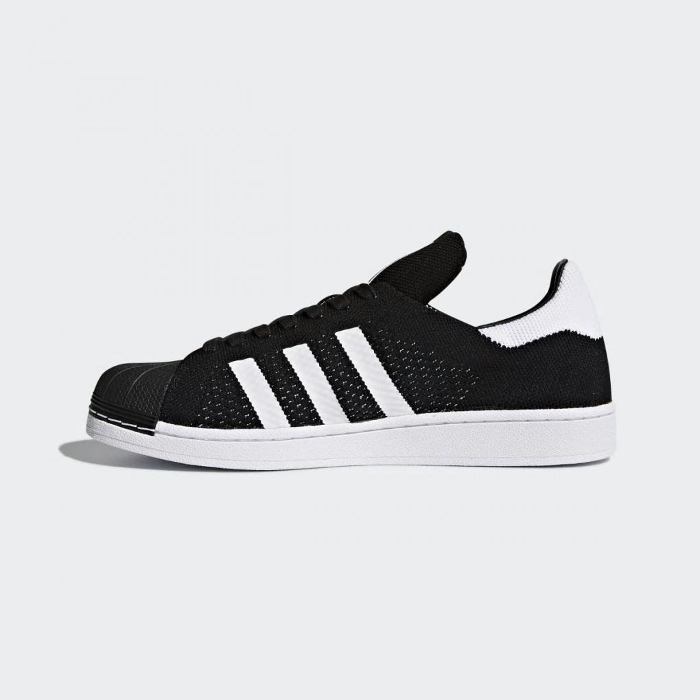 plus de photos 10cf8 34a6d Adidas Originals | Homme/Femme Superstar Primeknit Shoes Noir – Ujene