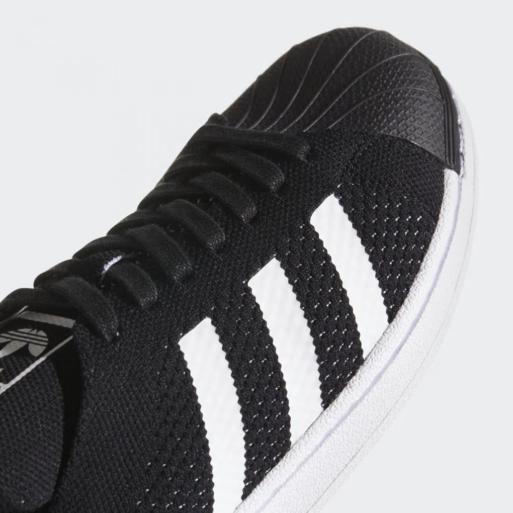 Adidas Originals | HommeFemme Superstar Primeknit Shoes Noir – Ujene