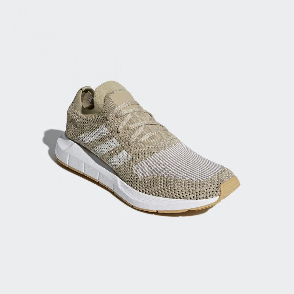 Adidas Originals | HommeFemme Swift Run Primeknit Beige – Ujene