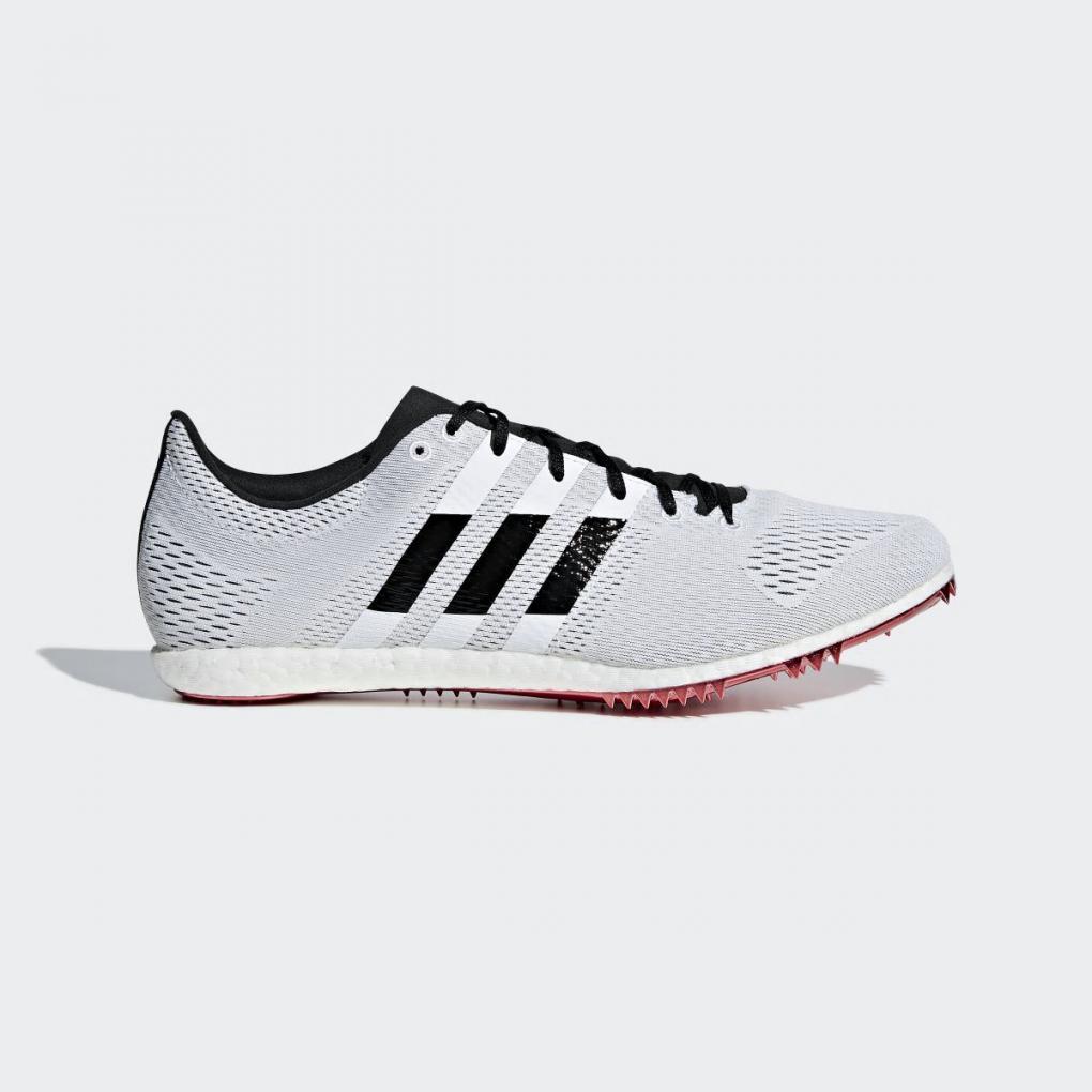 Adidas Running | Homme/Femme à pointes Adizero Avanti Blanc – Ujene