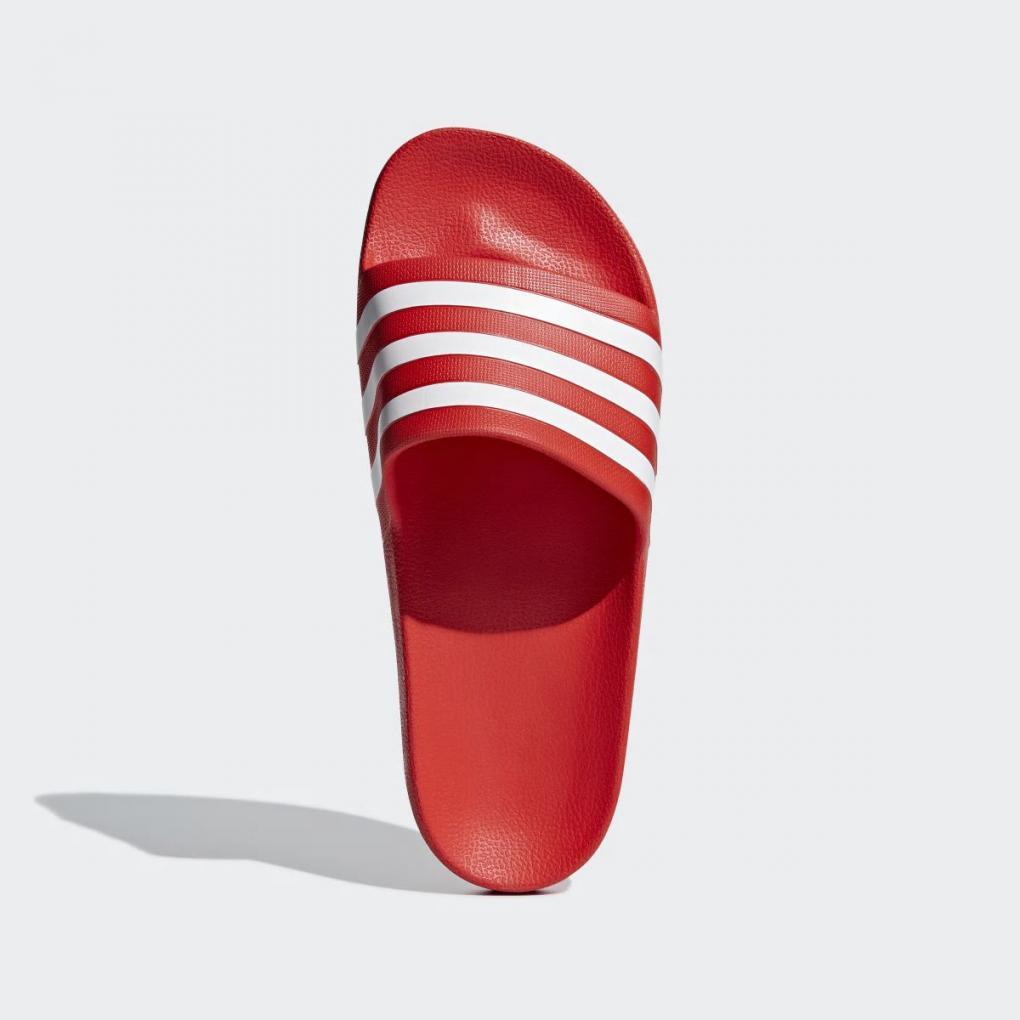 livraison gratuite marque célèbre belle et charmante Adidas Sandales et Tongs   Homme/Femme Sandale Adilette Aqua Rouge – Ujene