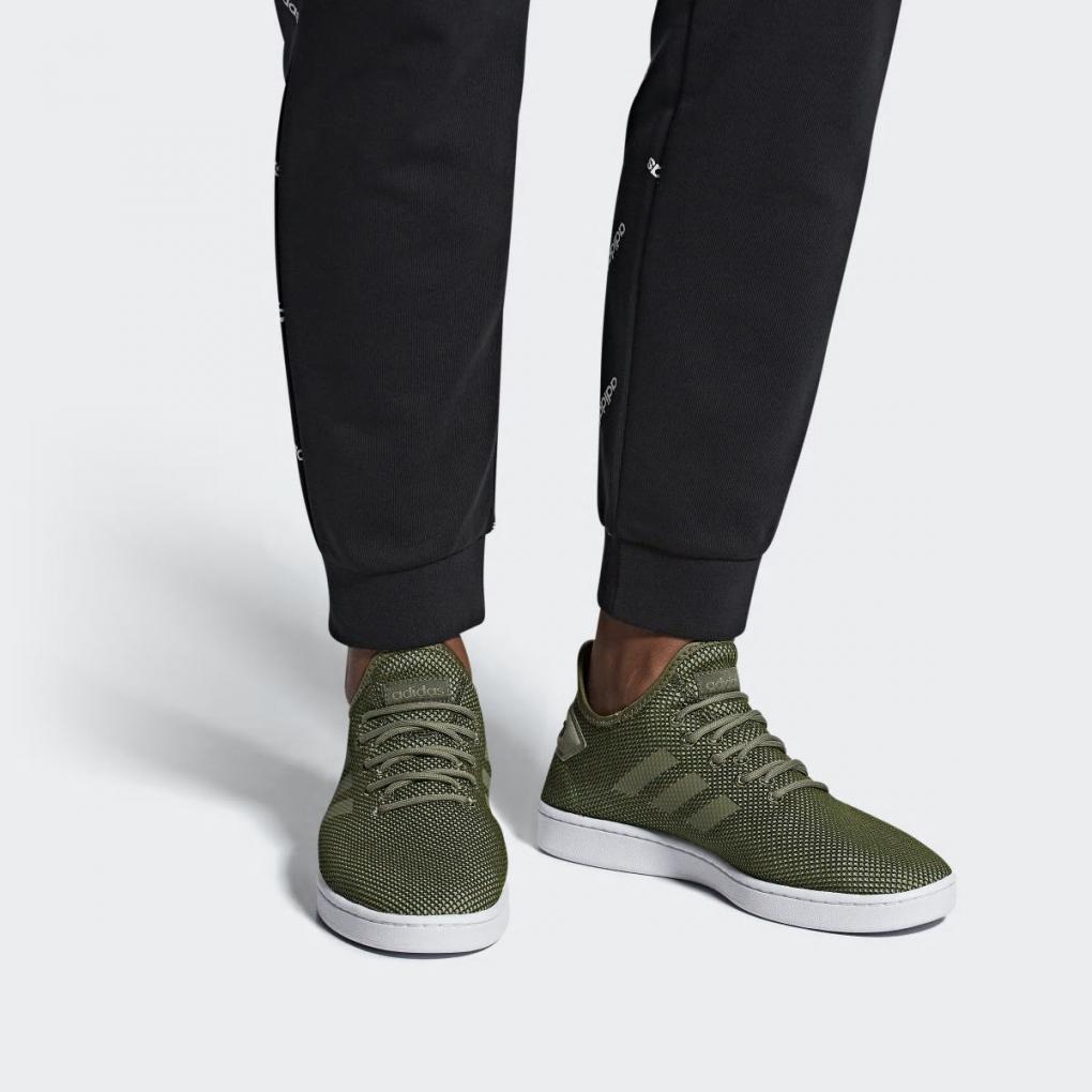 adidas court adapt homme vert